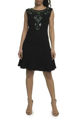 Vestido curto preto - DG17904