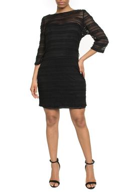 Vestido Curto Preto - DG18254