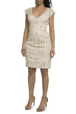 Vestido curto rosê - DG17913