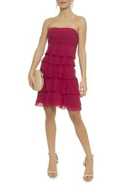 Vestido Curto Seda - DG16880