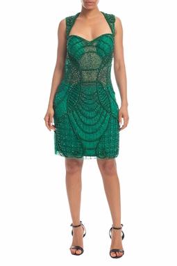 Vestido Curto Verde - DG18385