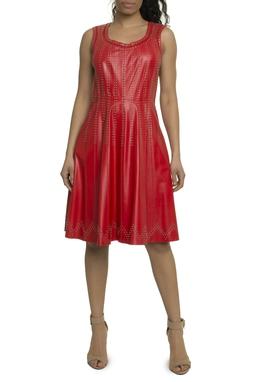 Vestido curto vermelho - DG17908
