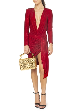 Vestido Curto Vermelho