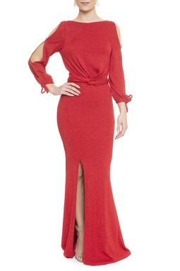 Vestido Cutelo Red - DG13178