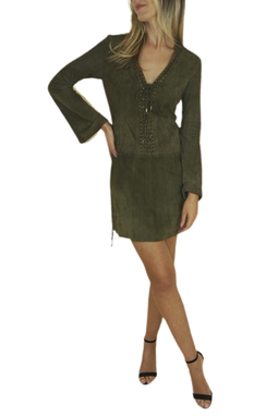 Vestido de Couro - BMD 9686