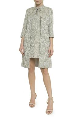 Vestido de Jacquard - BMD 10159
