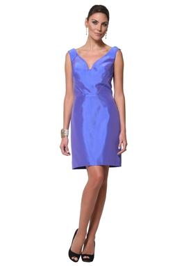 Vestido Dunia Azul