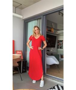 Vestido Eco Friendly Sampa Vermelho
