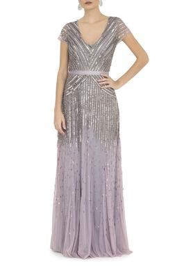 Vestido Ellaria Silver