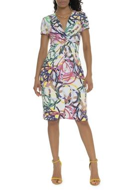 Vestido Estampa Colorida - DG15670