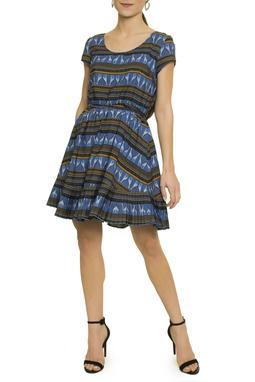 Vestido Estampa Girafas - DG17261