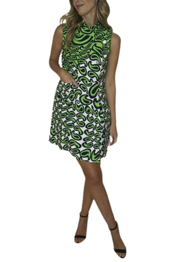 Vestido Estampa Psicodélica - BMD 9556