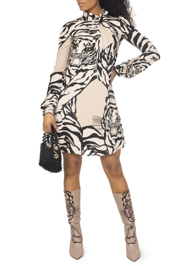 Vestido Re-edition Tiger Dress