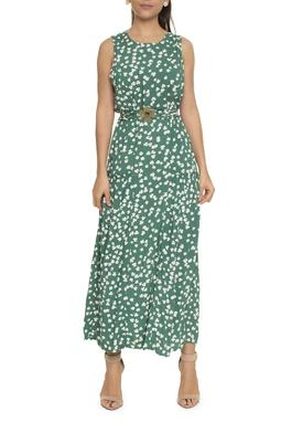 Vestido Estampa Trevo - DG16607