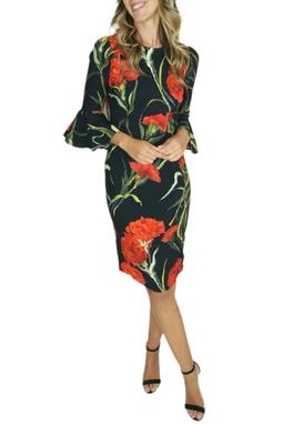 Vestido Estampado - BMD 10210