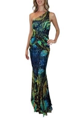 Vestido Estampado - BMD 11090