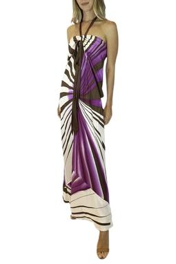 Vestido Estampado - BMD 11452