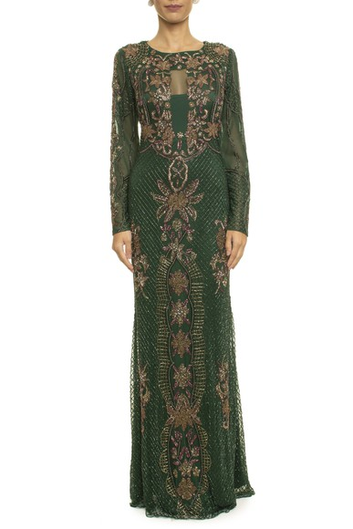 Vestido Europa Green Prime Collection