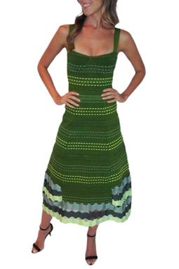 Vestido Evasê Bandage - BMD 10481