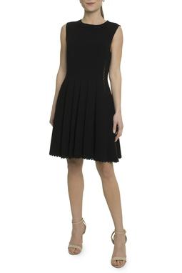 Vestido Evasê Preto - DG17888