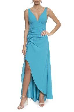 Vestido Evita Blue - DG13375