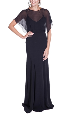 Vestido Ferri Preto CLM