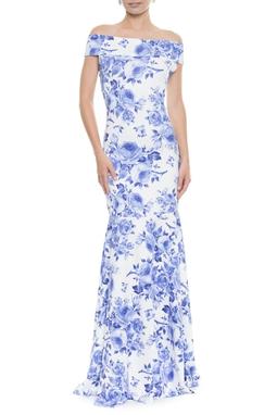 Vestido Fleur Ombro - DG36/40/42