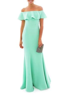 Vestido Florbela Green - DG13986