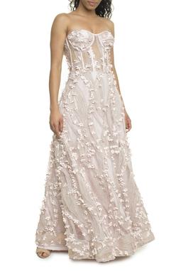 Vestido Flores 3D - DG18096