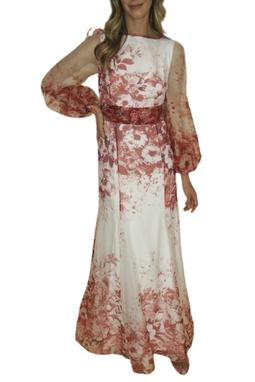 Vestido Flores Ca Celico - BMD 9998