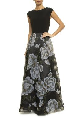 Vestido Floreta Black