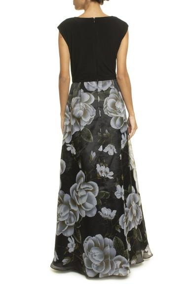 Vestido Floreta Black Basic Collection