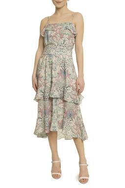 Vestido Florido Midi - DG17773