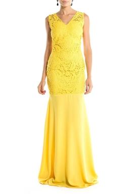 Vestido Flower Lace - DG14783