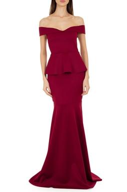 Vestido Fratta Vinho - DG14232