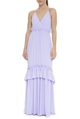 Vestido Frente Única Lilás - DG15868