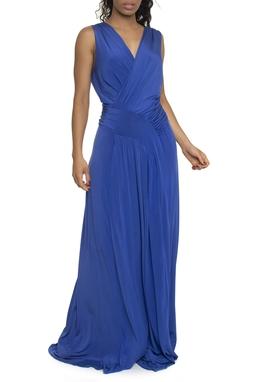 Vestido Georgina Jersey Azul THM