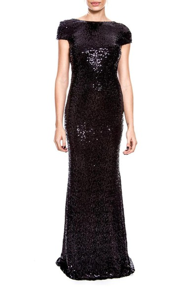 Vestido Gisele Black Badgley Mischka
