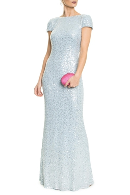 Vestido Gisele Light Blue