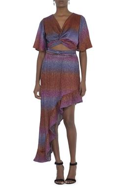 Vestido Glame Lurex