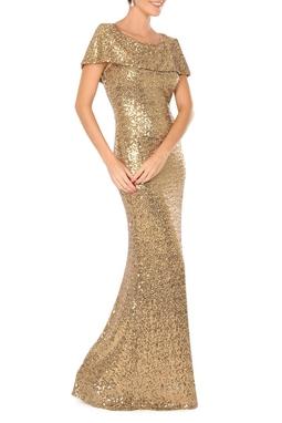 Vestido Glumb Gold