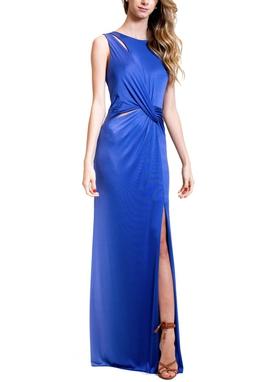 Vestido Hana Azul CLM