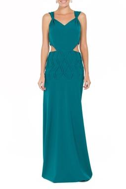 Vestido Herta Green