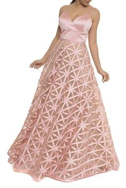Vestido Hilary Rosa DMU