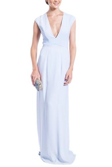 Vestido Isolda Azul CLM Carina Duek