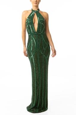 Vestido Jamile Green