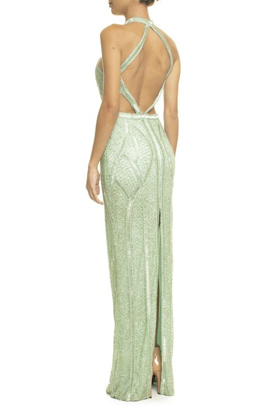 Vestido Jamile Light Green Prime Collection
