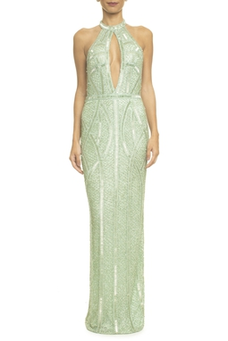 Vestido Jamile Light Green