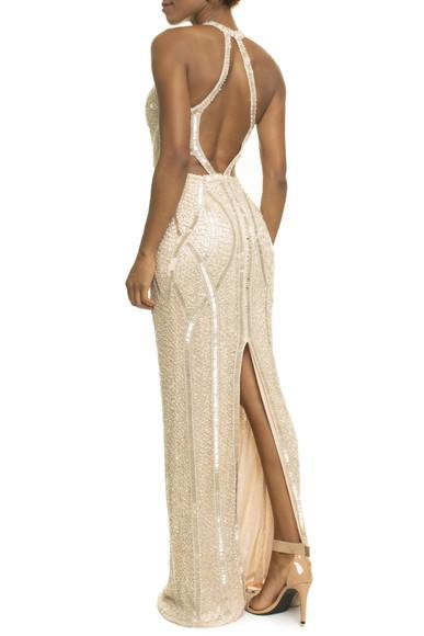 Vestido Jamile Nude Prime Collection