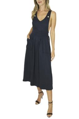Vestido Jardineira - BMD 9521